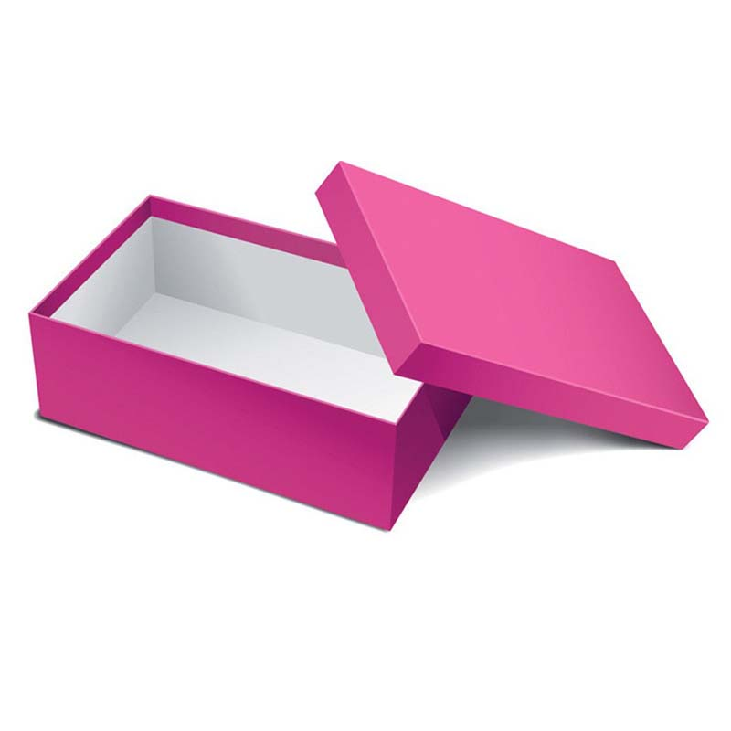 the small white shoe gift box