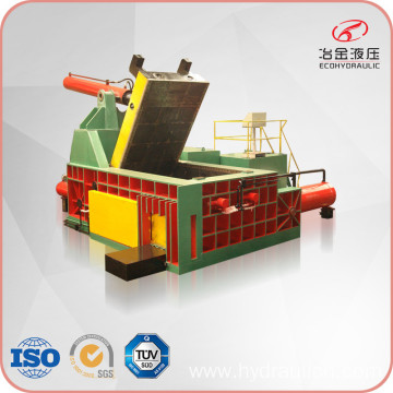 Hydraulic Scrap Aluminum Copper Steel Baler Machine