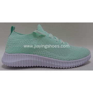 Wholesale Breathable Outdoor Flyknit Casual Shoes