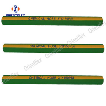Sulfuric acid braided chemical hose