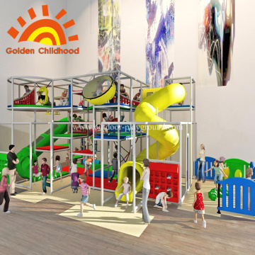 Indoor Mobile Playground System Equipment