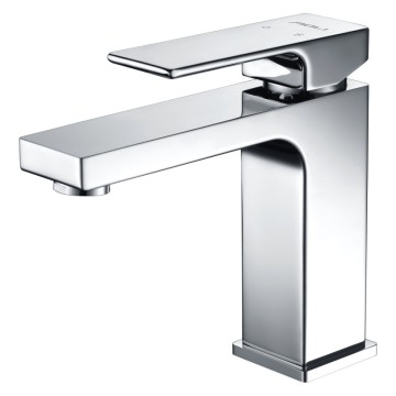 Factory sale modern bathroom Square styple mixer faucet