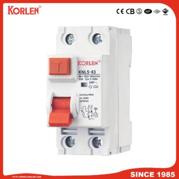 Residual Current Circuit Breaker RCCB 50A 2P 4P