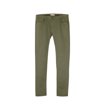 Five-pocket Design Cotton Chinos Pants