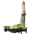 Truck mounted 1200m DTH water well drilling rig