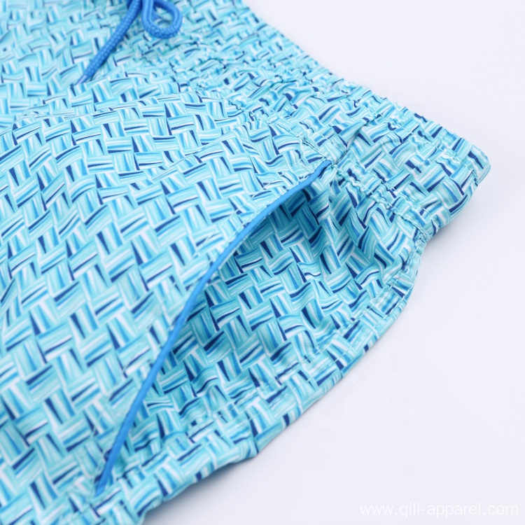 Board Shorts Print Plain Mens Swim Trunks Swimwear