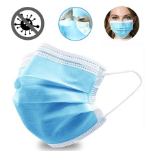 Disposable 3 Layers Earloop Non Woven Mouth Masks