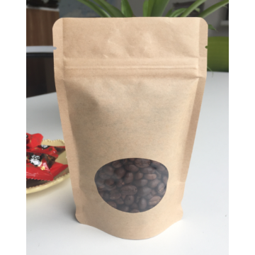 Dried Food Packaging Bag With Window