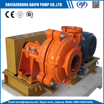Electric factory Coal Preparation Slurry Pumps