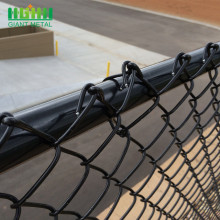 PVC Used Chain Link Fence of Woven Mesh
