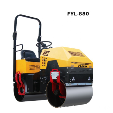 1 ton Small Road Roller Compactor For Soil Compacting