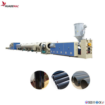 75mm-200mm HDPE Pipe Making Machine