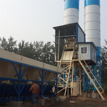 Automatic 25m3 / h concrete mixing plant price