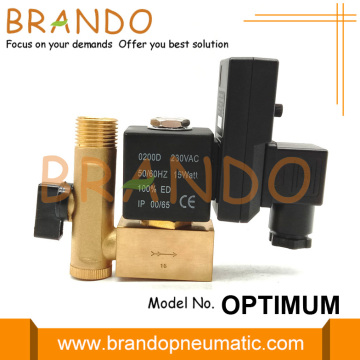 1/2'' Automatic Drain Valve For Air Compressor AC220V