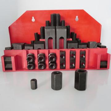 58pcs Deluxe Steel Clamping Kit Tools