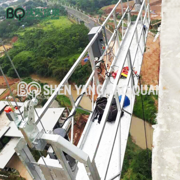 BQ Parapet Fitting Type Suspended Platform