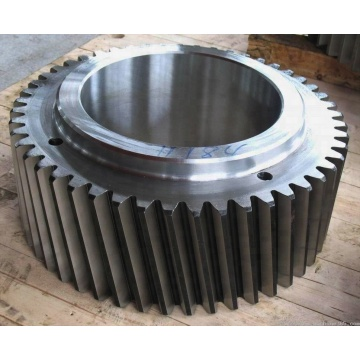 Hot rolling steel ring spur gear