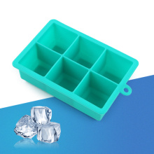 6 Grids Silicone Ice Cube