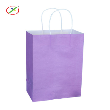 wholesale kraft paper gift  bag with handle