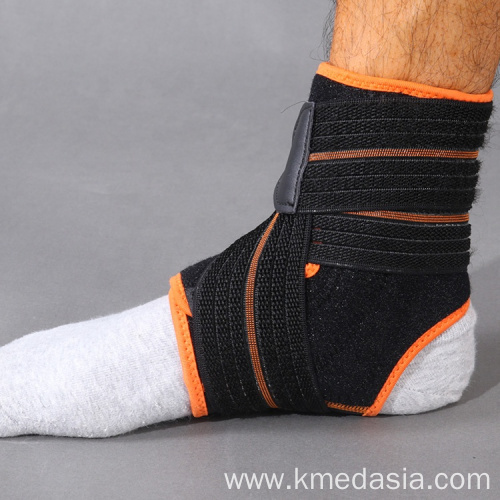 Customized Compression Elastic Adjustable Ankle Support