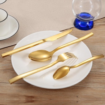 Wholesale stainless steel gold thickness cutlery