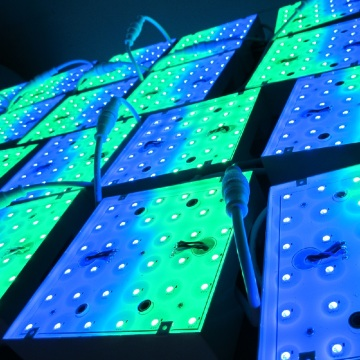 Digital DMX RGB Pixel LED Panel Lighting