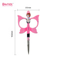 Butterfly Embroidery manicure eyebrow scissors