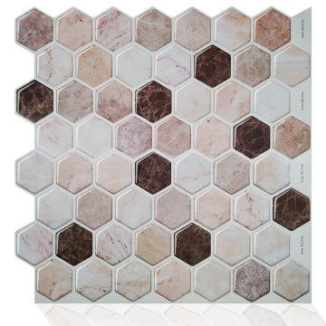 Self Adhesive Mosaic Kitchen Backsplash Self Stick Tile
