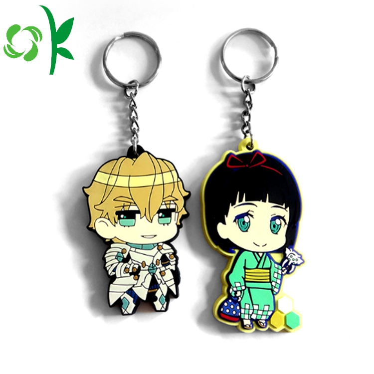 Cartoon Figure Keychain