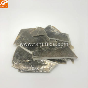 natural gold green mica scrap