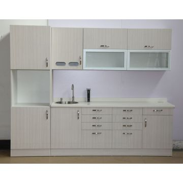 Clinic sterilization cabinet with sink