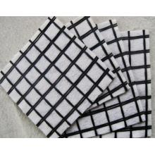 Composite Coated Fiberglass Geogrid With Nonwoven Geotextile