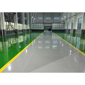 Epoxy cement concrete self-leveling floor