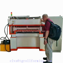 Automatic rib-lath making machine