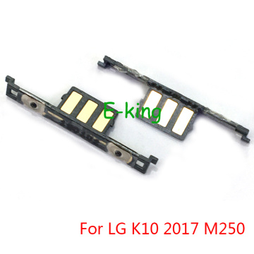 Volume Switch Side Button For LG K10 2017 M250 Side Keypads Flex Cable Mobile Phone Repair Replacement Parts