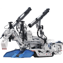 Explosion Proof Crawler Drilling Rig in Tunnel