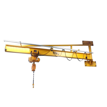 Workshop 2T Wall Mounted Jib Crane Design Drawing
