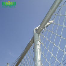 hot dipped galvanized knitted  chain link fence