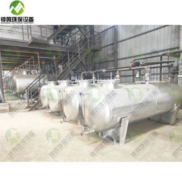 Waste Motor Oil Processing Plant