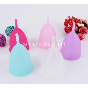 Medical High Quality Menstrual Cup Ladies Sterilizator Cupă menstruală din silicon