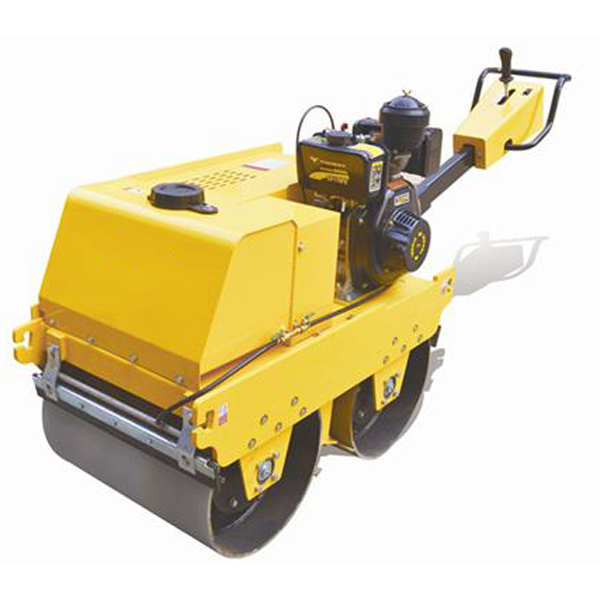 FYLJ-S600C Walk-behind Double Drum Road Roller