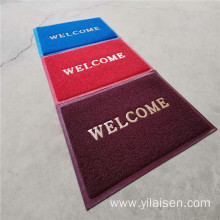 High quality wrinkle-resistant pvc outside welcome door mat