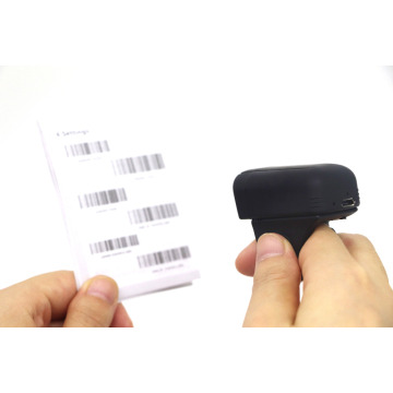 Mini Bluetooth Android Ring 1D Barcode Scanner
