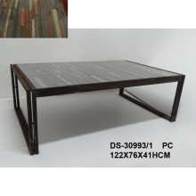 Farmhouse Furniture Industrial Solid Wood Coffee Table