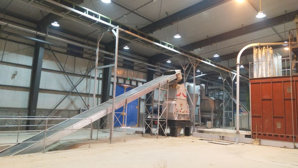 Straw Pellet Making Line