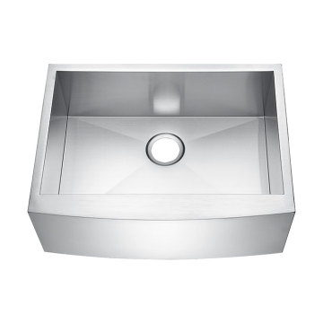 272010S Undermount Hand Made Overlap Sink