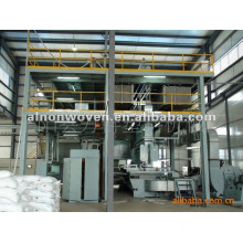 High speed AL-1600 SS 1600mm pp spunbond non woven fabric making machine