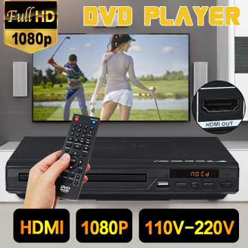 Home 1080P HD DVD Player HDMI-compatible USB Multimedia Digital DVD TV Support HDMI-compatible CD SVCD VCD MP3 MP4 Video