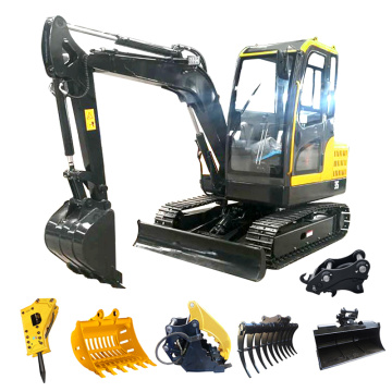 CE approved hydraulic crawler mini excavators