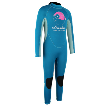 Seaskin children's long wetsuits For Scube